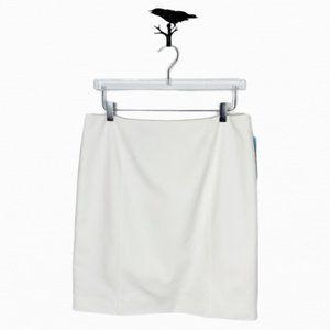 Antonio Melani Fiona Ivory Pencil Skirt Size 12